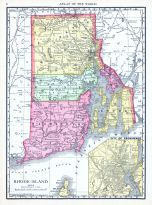 Rhode Island, World Atlas 1913